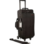 PROTEC IP301DWL TRUMPET CASE - IPAC - DOUBLE - WITH WHEELS - BLACK