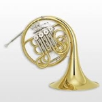 YAMAHA YHR671D FRENCH HORN - DBL - LAC - SCREW BELL