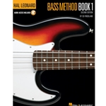 HAL LEONARD BASS METHOD WITH ONLINE AUDIO - BOOK 1 - ELECTRIC BASS