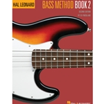 HAL LEONARD BASS METHOD WITH ONLINE AUDIO - BOOK 2 - ELECTRIC BASS