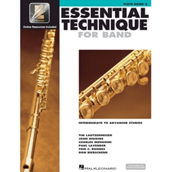 Essential Technique for Band Book 3 Flute