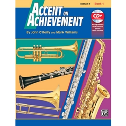 Accent on Achievement Book 1 French Horn