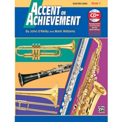 Accent on Achievement Book 1 Electric Bass