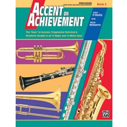 Accent on Achievement Book 3 Percussion