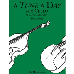 A TUNE A DAY for Cello Book 2  CEL