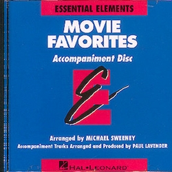 Essential Elements Movie Favorites Play Along CD