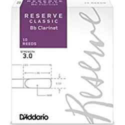 DADDARIO DCT1030 CLARINET REED - RESERVE CLASSIC - (10)