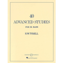 40 Advanced Studies for Bb Bass/Tuba B.C.